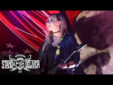 Nita Strauss rocks the National Anthem: NXT TakeOver: Stand & Deliver, April 7, 2021