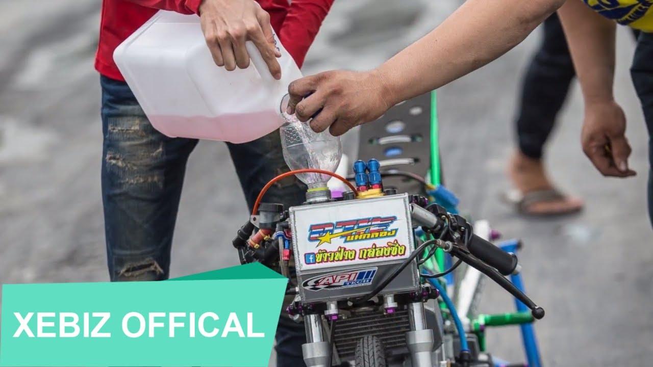 Hình Ảnh Xe Độ Drag Bike Thái Lan Chân Thật Từng Centimet \