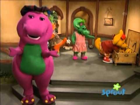 Barney no zoologico completo em portugues - YouTube