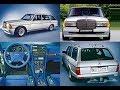 H?m furqon h?m limuzin 1980-c? il ?fsan? tüninqi: Zender Mercedes-Benz 280 TE S123