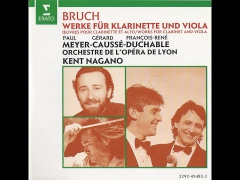 N°6 Andante con moto - Eight Pieces for Clarinet, Viola & Piano Op.83 -   Paul Meyer & Gérard Caussé