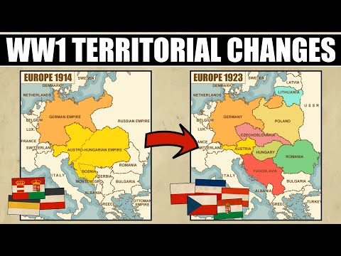 Territorial Changes After WW1