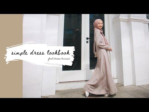 Simple Dress Outfit   Hijab Lookbook // #ootd - YouTube