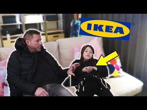 NAJA KOMMER TIL SKADE I IKEA