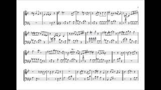 JJ Johnson & Wynton Marsalis 'For Dancers Only' Duet Transcription