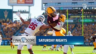 Recap: Arizona State football combines for 536 yards of offense in upset win over No. 15 Utah