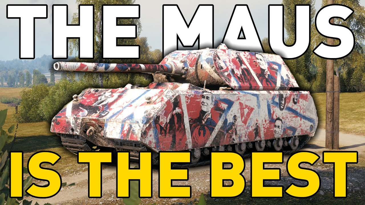 THE MAUS IS THE BEST in World of Tanks thumbnail