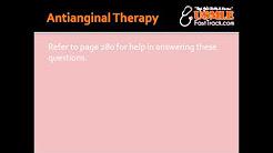 Antianginal Therapy - Nitrates, Beta Blockers & Nitrates + Beta Blockers