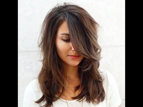Стрижки каскад на средние волосы 2017