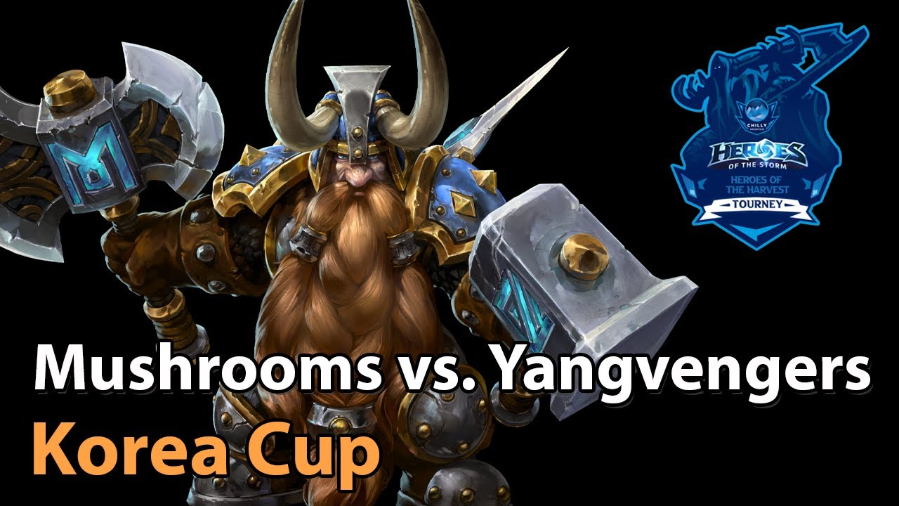 ► Mushrooms vs. Yangvengers - Korea Cup - Heroes of the Storm Esports