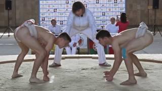 Промо ролик першого в історії Львова міжнародного турніру з сумо