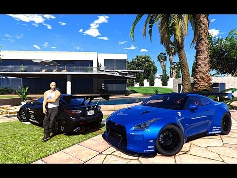 GTA V | VIN DIESEL MANISON AND CARS COLLECTION IN GTA 5 ...