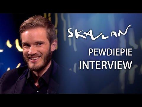 PewDiePie (English Interview) |  I sold hot dogs  | SVT/NRK/Skavlan