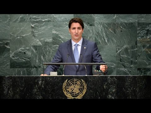 FULL SPEECH: Trudeau addresses UN General Assembly