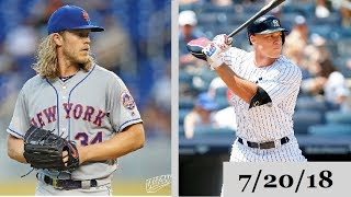 New York Mets vs New York Yankees Highlights || July 20, 2018