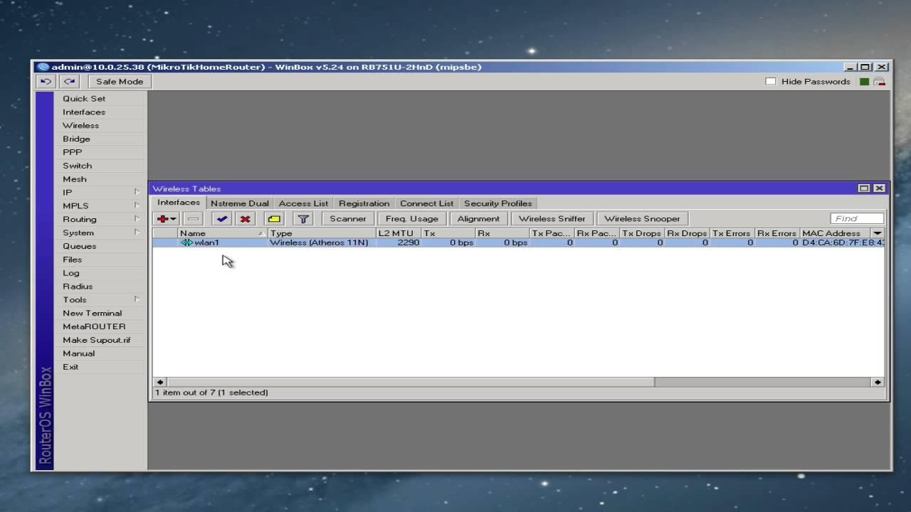 MikroTik Router/Access Point Basic Setup