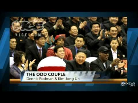 Dennis Rodman Holds Court in NORTH KOREA | Dennis Rodman WORMS his way into North Korea