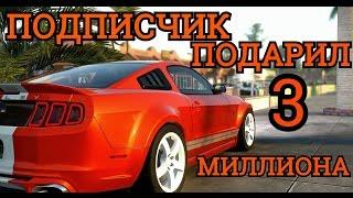 MTA SA CCDplanet server 2! Подписчик подарил 3 миллиона (3000000 рублей)