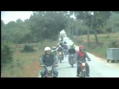 1º passeio de motas antigas em ruivós 1ª parte