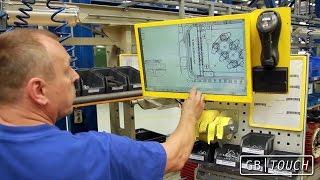 GBTouch - průmyslový úsporný dotykový LED monitor