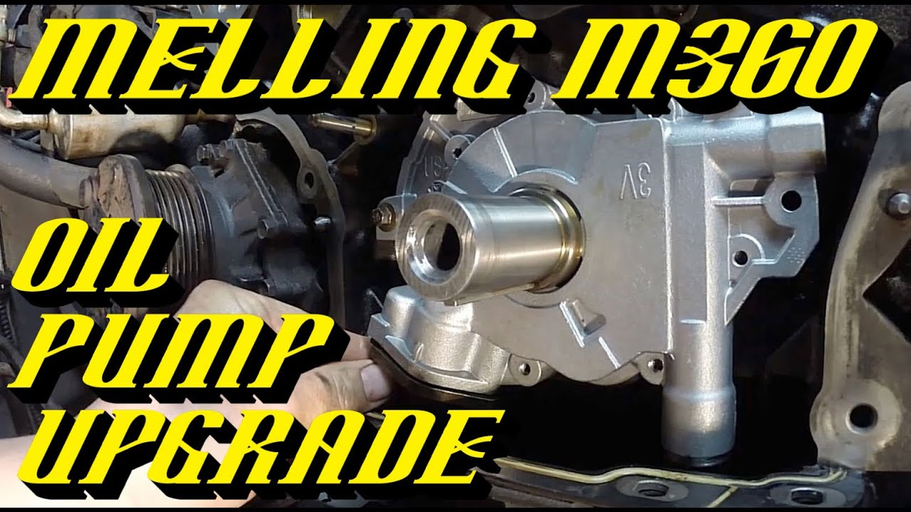 small resolution of ford 5 4l 3v engine melling m360 oil pump upgrade