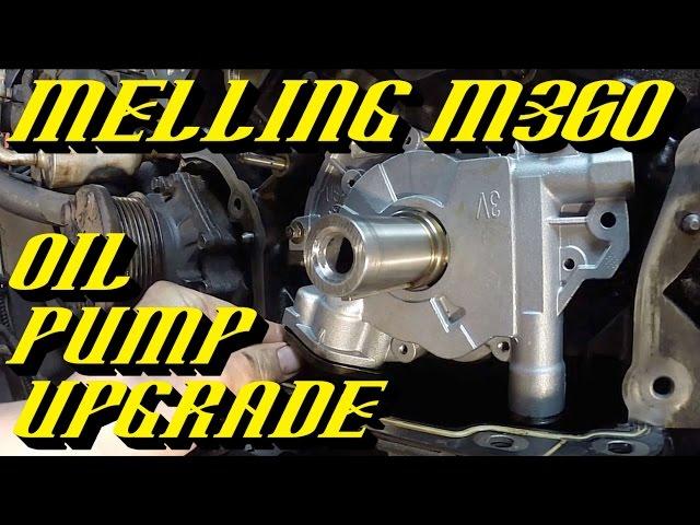 Ford 5.4L 3v Engine Melling M360 Oil Pump Upgrade