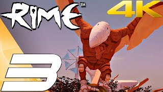 RIME - Gameplay Walkthrough Part 3 - Bird Chase & The Ocean [4K 60FPS]