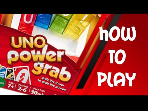 15e3d1067d83 How To Play Uno Power Grab Card Game - YouTube