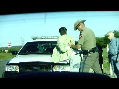 Traffic Stop in Weatherford, TX