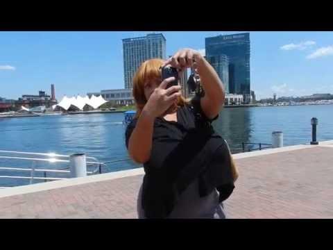 Ms Deja & Platinum Puzzy take on Baltimore's Inner Harbor