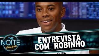 The Noite (03/03/15) - Entrevista com Robinho