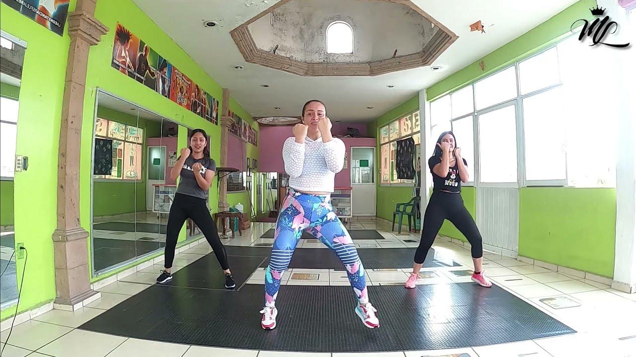 Clase de baile aeróbico   Rutina completa en casa #9