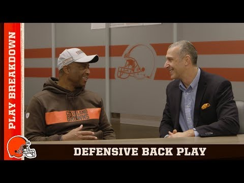 DeWayne Walker breaks down Denzel Ward Film | Browns All Access