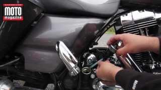 Harley-Davidson GT Bagger, le niveau d'huile à la mode Harley !