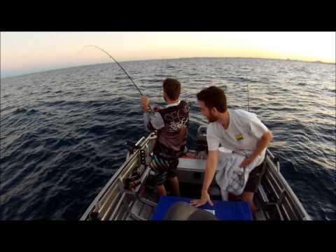 Fishing Offshore Mooloolaba 5/8/13 'smackin Snaps'