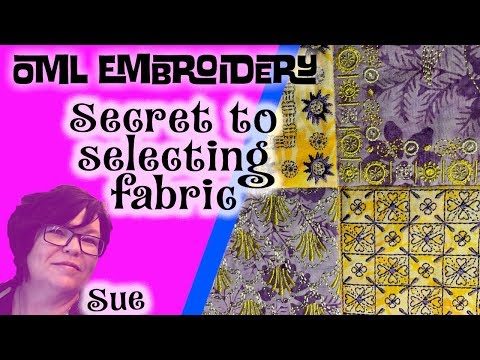 Machine Embroidery Quilting Blocks:The secret to selecting fabric[2019]