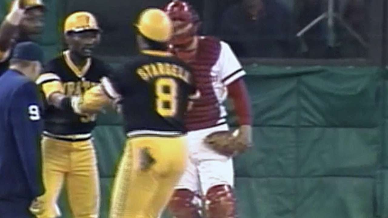 Download NLCS Gm1: Stargell's three-run homer in the 11th