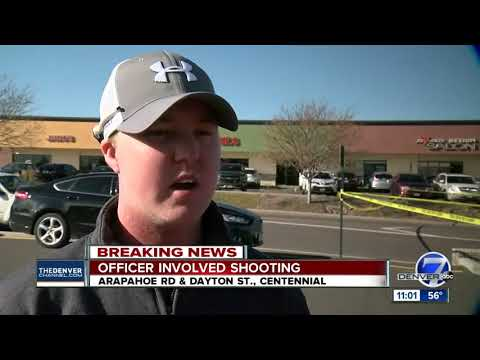 One man injured in Arapahoe County officer-involved shooting