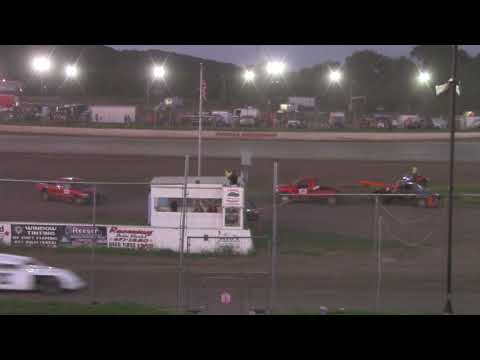 Peoria Speedway 8-3-19 Crate Modified Heat Race