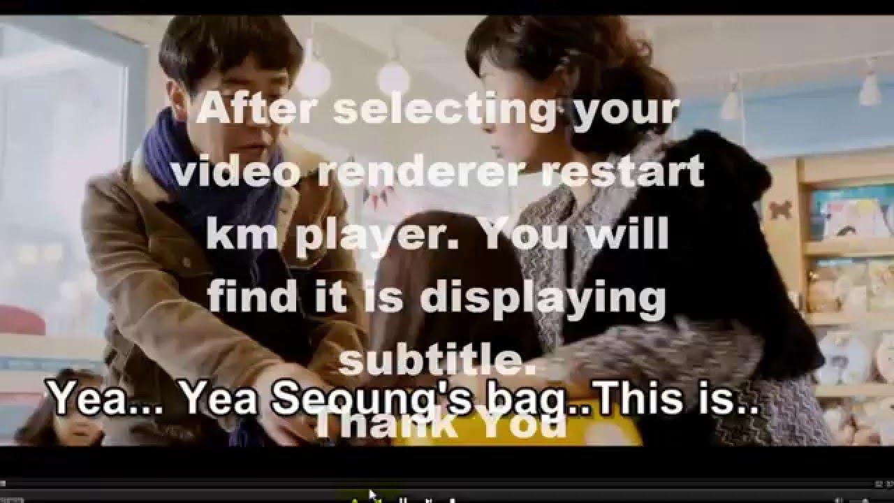 Subtitle Problem Solved In Km Player Youtube