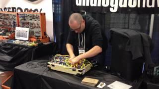 NAMM: Richard Devine on Make Noise modular synthesizer