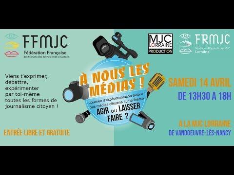 Diffusion en direct de la Fédération Française des MJC