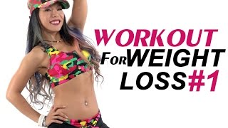30 Mins Dance Fitness Workout for weight loss #1| Michelle Vo | Fat Burning Full Body Workout