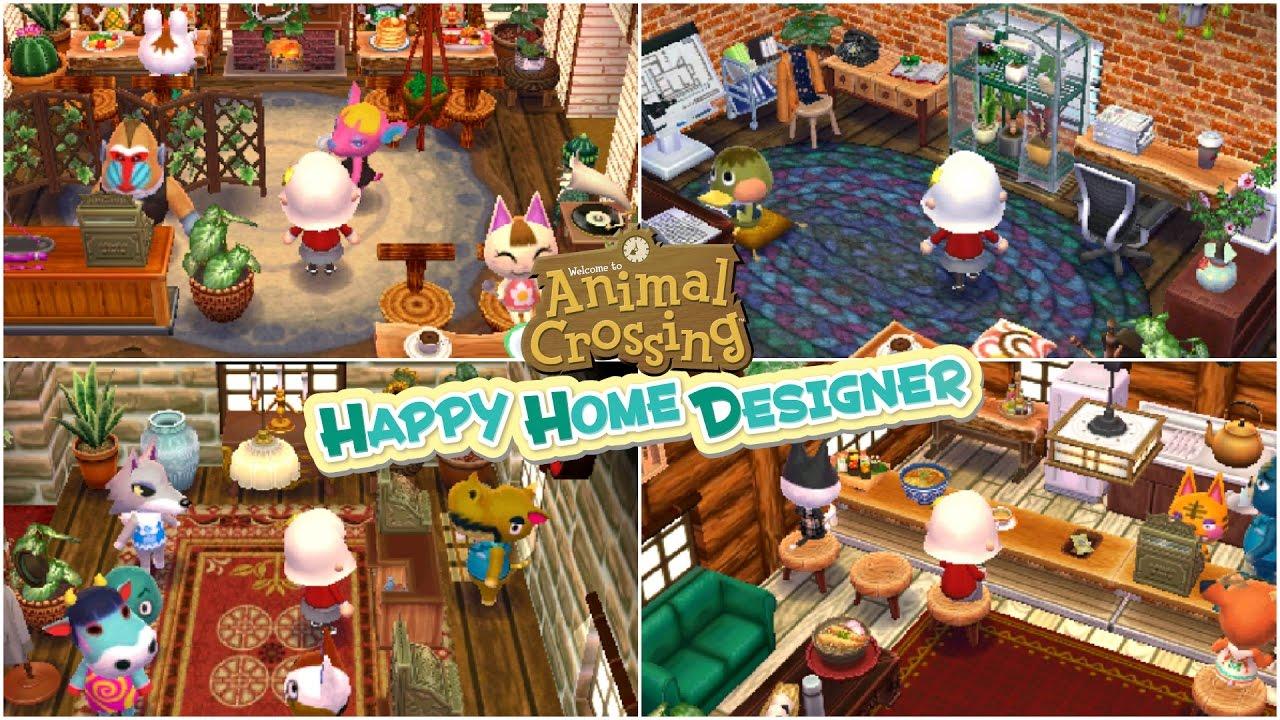 Happy Home Designer Office Yaser