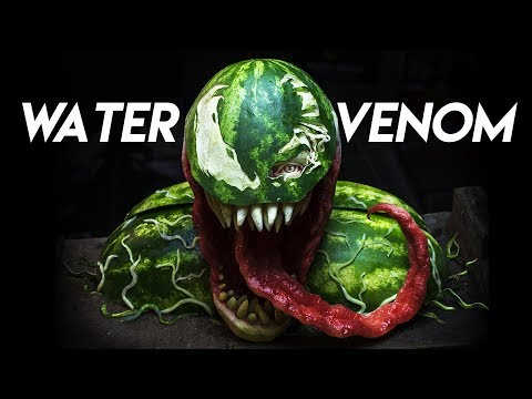 VENOM - Best Watermelon Carving