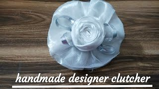 How to make a simple clutch Designer/easy Tutorial