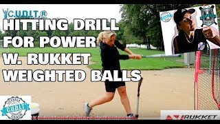 Challenge U. Softball and RUKKET Softball Baseball Hitting Drill Products for POWER