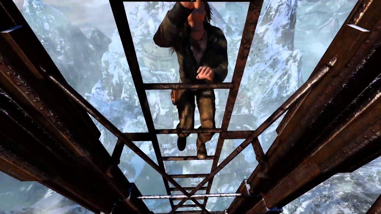 《PS4古墓奇兵 決定版》羅菈爬超高 - YouTube