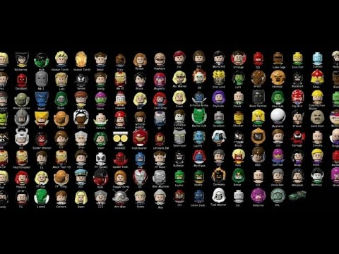 Лего хоббит все персонажи!(Lego hobbit all characters) PC - YouTube