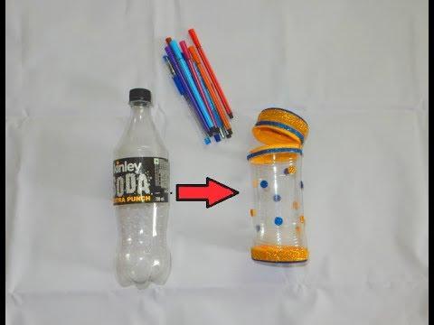 Pencil Case From Plastic Bottle